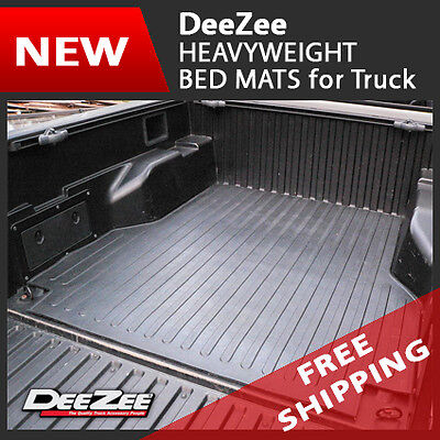 (Dee Zee Heavyweight Rubber Truck Bed Mat for 2005-13 Nissan Frontier 6' Bed)
