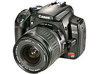 Canon EOS Digital Rebel XT 8.0 MP DSLR Camera with EF-S 18-55mm - Black