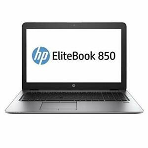 HP EliteBook 850 G3 Laptop: intel Core i7-6600U (6th Gen) 2.60Gh