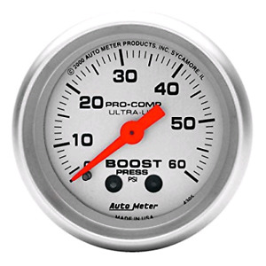 Boost gauge Autometer 0-60psi