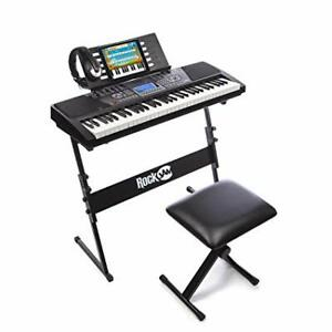 RockJam RJ761-SK Key Electronic Interactive Teaching Piano