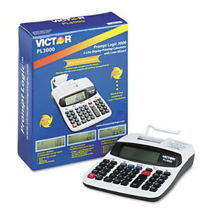 BRAND NEW / SEALED /Victor PL3000 12-Digit Calculators