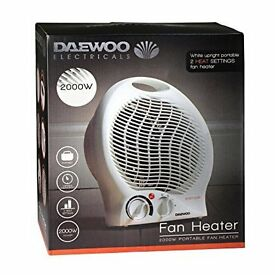 DAEWOO 2000W ELECTRIC FAN HEATER