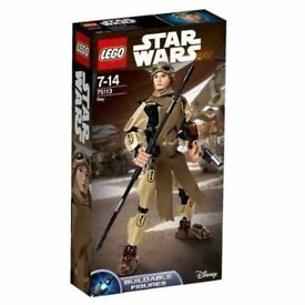 Lego Star Wars Rey Buildable Figure 75113: Brand new and unopened