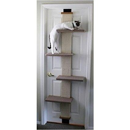 Back Of The Door Cat Tree Smartcat Multi Level Climber