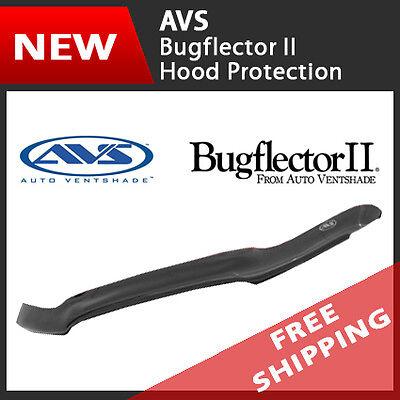 (AVS Bugflector II Hood Protectors Bug Shields Deflectors for 05-15 Nissan Armada)