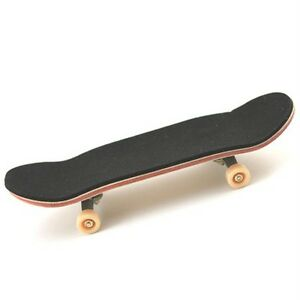 New 96mm Canadian Maple Wooden Deck Fingerboard Skateboard Sport Games D42