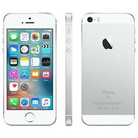 Iphone se Wanted 32/128/16 Silver on voda or Unlocked