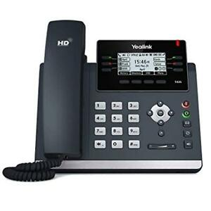 Yealink SIP-T42S Wired handset 12lines LCD Black IP phone