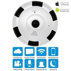 v380 360 degree fisheye wifi ip camera