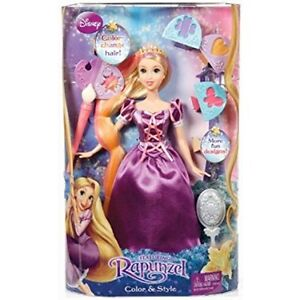 Disney Princess Rapunzel Colour and Style Doll