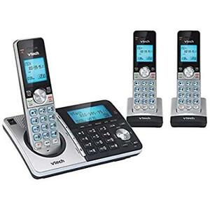 New V-Tech Three Handset Cordless Phones - 3 Phone Set