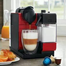 Nespresso Delonghi Latissima + Plus coffee machine
