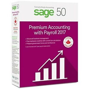Sage 50 Premium Accounting with Payroll (2017) 2 User