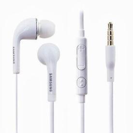 Job Lot 50x Genuine Samsung Galaxy S4, J5 Earphones Headset Headphones Handsfree HS3303WE