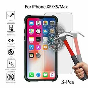 Tempered Glass Screen Protector for Apple iPhone XS MAX,XS,XR,X,