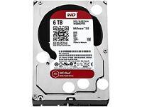 6TB WD Red NAS SATA3 HDD