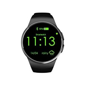 bluetooth smart watch simcard phone make and recieve calls