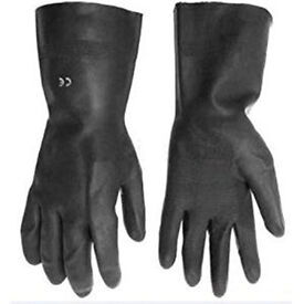 Optima Tough Medium Rubber Gloves (Discount pack of 10)