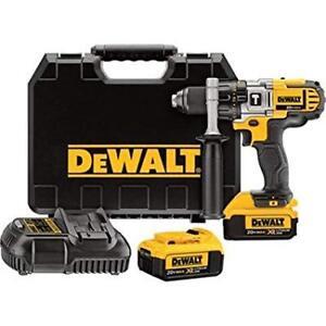 DEWALT 20V MAX Li-Ion Premium Hammer Drill Driver Kit NEW
