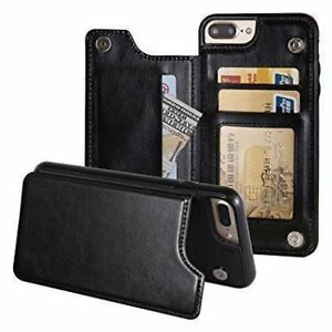 New PU Leather Case For iPhone X / 7/ 8 Plus Card Slot Holder