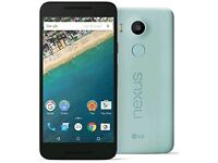 LG Nexus 5X 16GB Unlocked to All networks Sim Free Blue