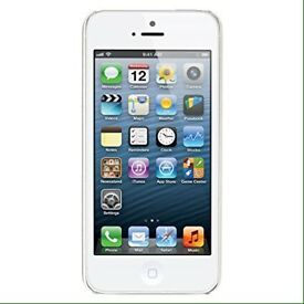 Unlocked white iPhone 5