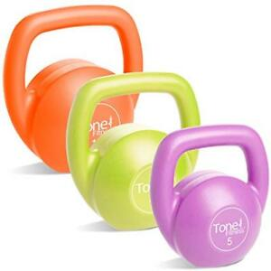 Tone Fitness Kettlebell Body Trainer Set  30 lbs. - NEW