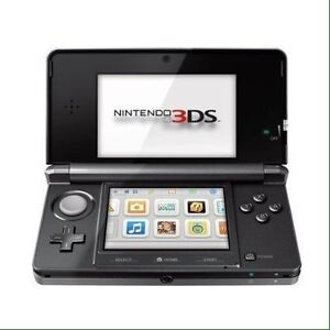Nintendo 3DS - Cosmo black - 8 games included - $125 or BO
