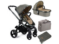 iCandy Peach 2016 Olive Pushchair & Carrycot Package - EX DISPLAY SAVE OVER £200