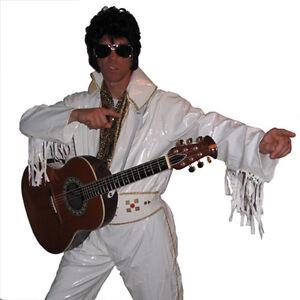 ELVIS costume - includes belt & glitter sash.
