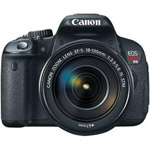 Canon EOS Rebel T4i 18.0 MP Digital SLR with 18-135mm EF-S Lens
