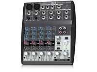 Behringer Xenyx 802 Mixer + Cables