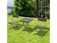 Garden Table & Chairs - Bistro Style - New and in packaging
