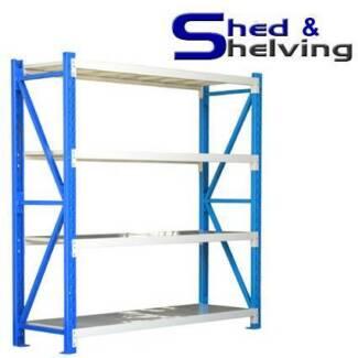 BEST VALUE Long Span Steel Shelving Garage Shed Storage  from Bibra Lake Cockburn Area Preview