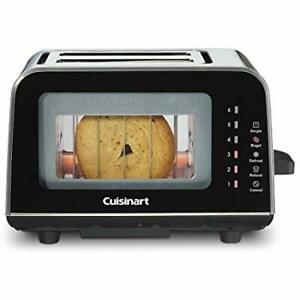 Cuisinart ViewPro® 2-Slice Glass Toaster in Sealed Box