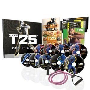 T25 Focus DVD Workout-Exercise Set