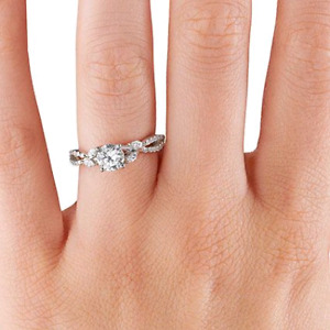 Brilliant Earth Willow Luxe Engagement Ring