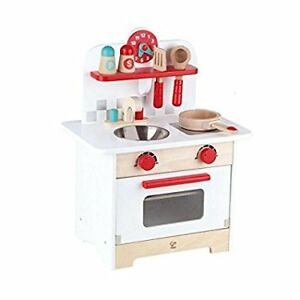 Children's NIB Retro Gourmet Kitchen Set by Hape
