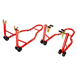 Front and Rear Motorcycle stands for sale