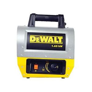 DeWalt DHX165  Electric Forced Air Heater - FOR RENT