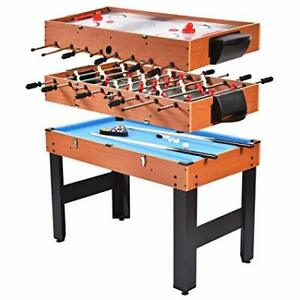 42-inch three-in-one combo gameing table