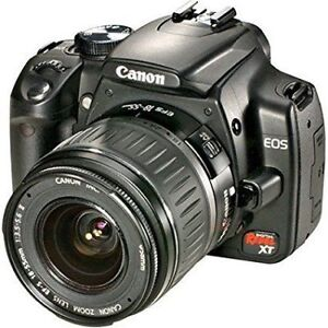 Canon  Rebel XT   with 18-55mm F/3.5-5.6