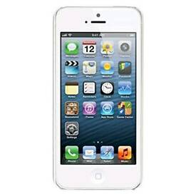 iPhone 5 16gb £90 - unlocked.