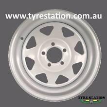 "New 13"" Sunraysia Look Wheel Rim Ford Stud for Trailer Caravan Craigieburn Hume Area Preview"