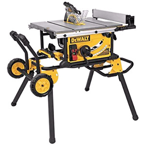 Dewalt 10inch table saw with stand