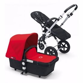 Bugaboo Cameleon 3 - New And In Box Alu Black Frame with Red Trim