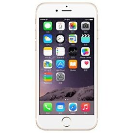 iPhone 6 Plus 16gb gold On EE