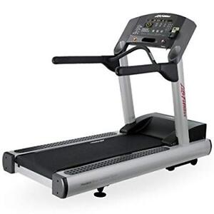 LIFE FITNESS COMMERCIAL INTEGRITY TREADMILL WITH WARRANTY