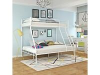 🎆💖🎆STRONG QUALITY🎆💖🎆TRIO METAL BUNK BED FRAME DOUBLE BOTTOM & SINGLE TOP HIGH QUALITY